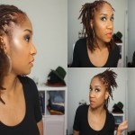 5 Quick Hairstyles For Short/medium Dreads intended for Styling Of Medium Dread Locks