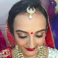 Indian Bridal Hairstyles For Big Forehead