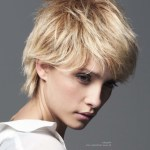 Feminine Boy Cut With The Cropped Hair Layered In The Neck within Boys With Feminine Hairstyles