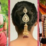 Indian Bridal Hairstyles | Wedding Hairstyles Step By Step | Bridal Bun And  Bridal Plait Hairstyles within Indian Hairstyle For A Wedding