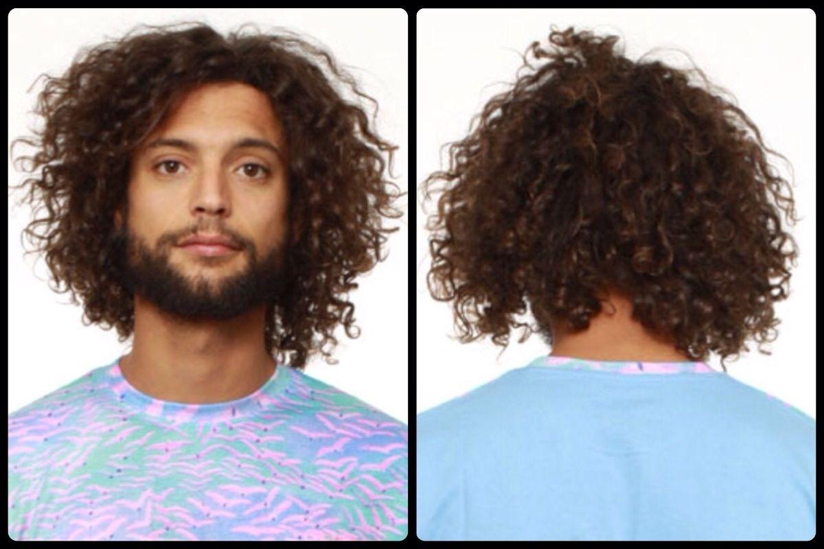 Curly Hair 3B Men - Wavy Haircut