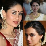 Traditional South Indian Hairstyle - Google Search | Hair pertaining to Indian Hairstyles For Sarees Square Face