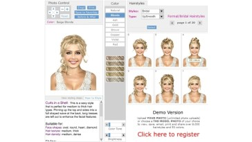 Try Wedding Hairstyles On Your Photo - Free Virtual Hair App intended for Try On Hairstyles Online