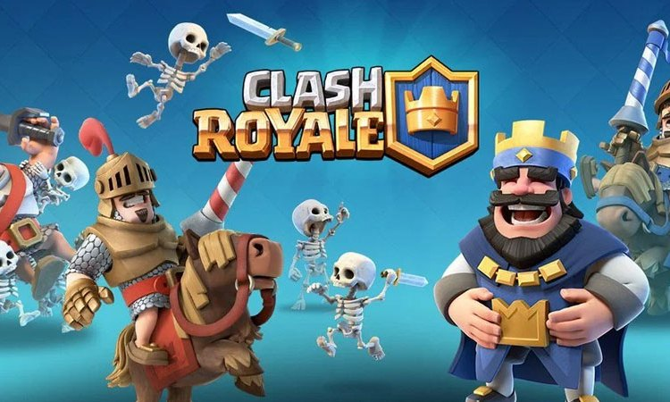 Game Clash Royale game strategi Supercell.