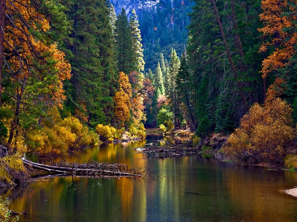 Hd Wallpaper Yosemite Fire Fall Wawona News Wawona News