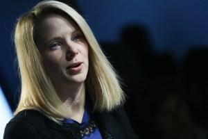 Yahoo CEO Marissa Mayer PHOTO: Pascal Lauener / Reuters