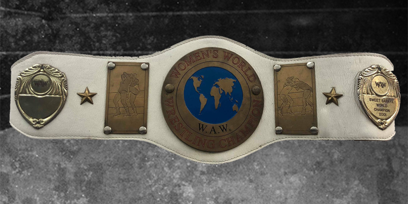 Bellatrix World Championship Belt