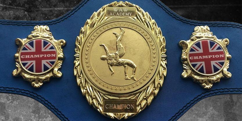 WAW Academy Championship Belt