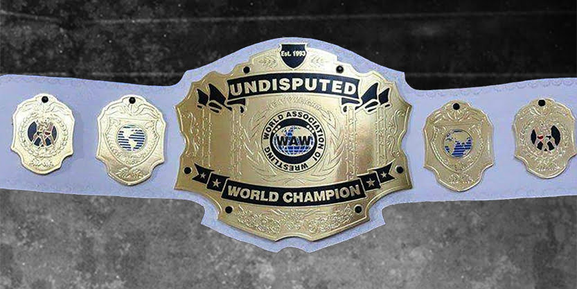 WAW World Heavyweight Championship Belt