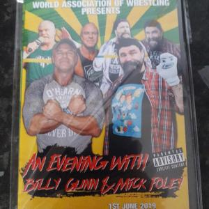 An Evening with Billy Gunn and Mick Foley Front Cover