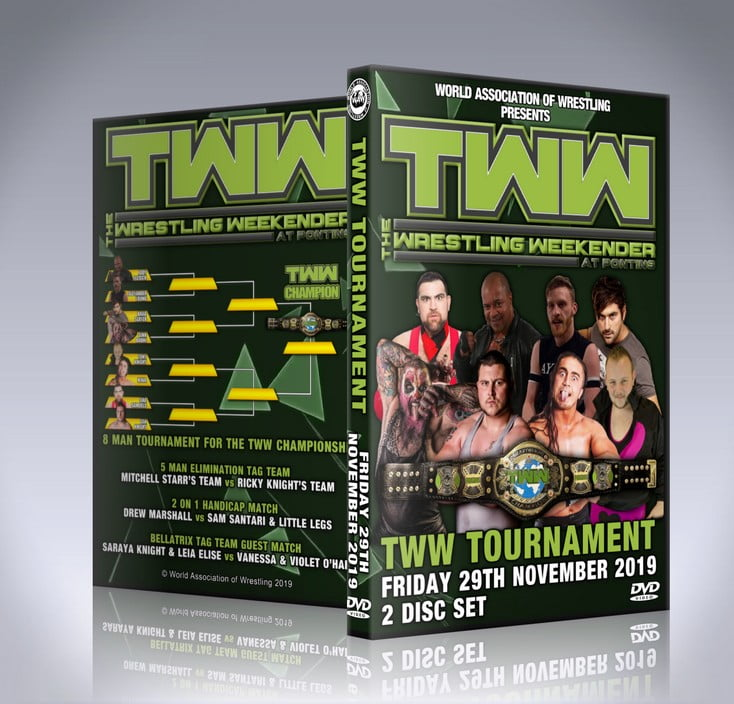 The Wrestling Weekender Championship Tournament DVD