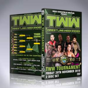 The Wrestling Weekender Championship Tournament DVD