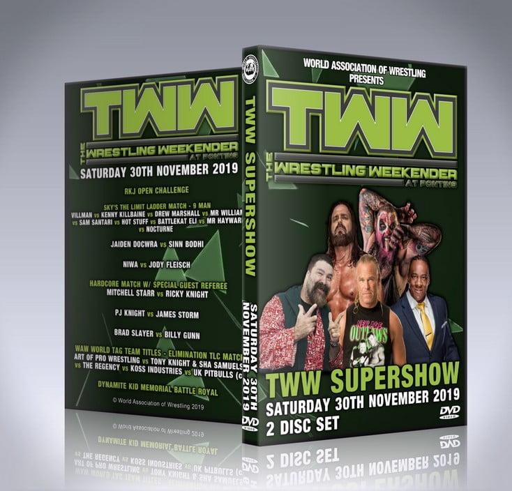 The Wrestling Weekender Supershow DVD