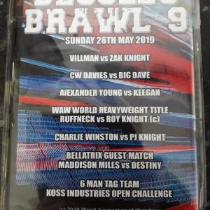 Beccles Brawl 9 Back Cover