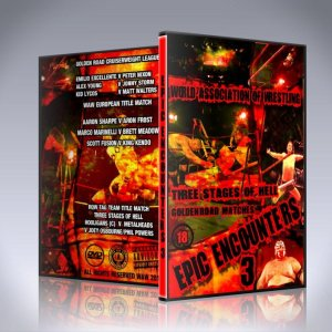 WAW Epic Encounters 3 DVD