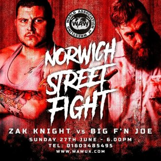 WAW Over 18s Show Results - 27/06/21