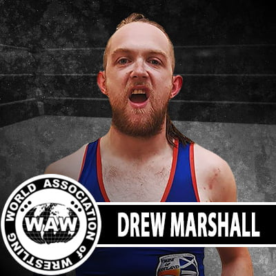 Drew Marshall WAW Roster Photo