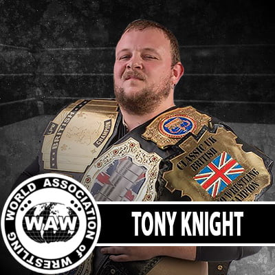 Tony Knight WAW Roster Photo