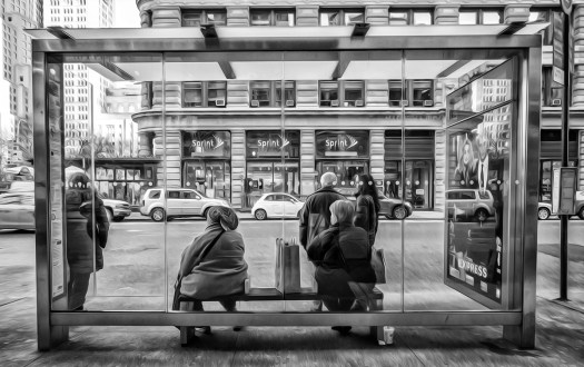 scenes at the bus stop act 29