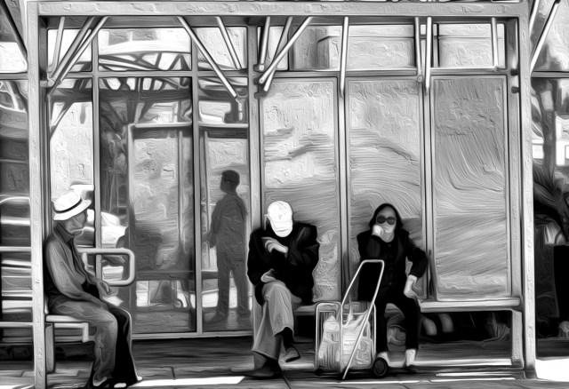 bus stop 40