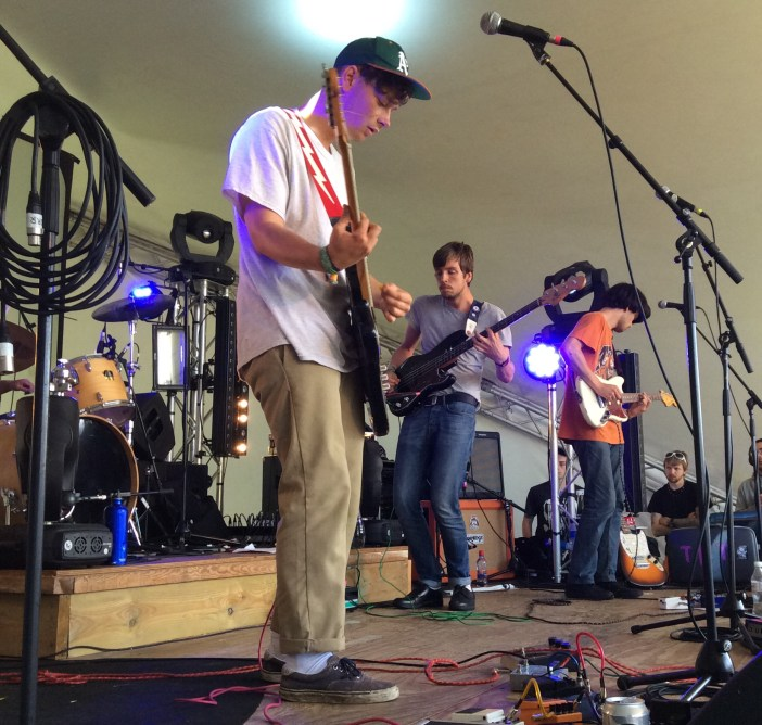 The Black Tambourines at Knee Deep Festival