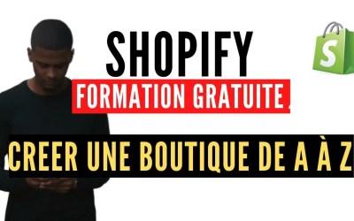 Formation Shopify Gratuite