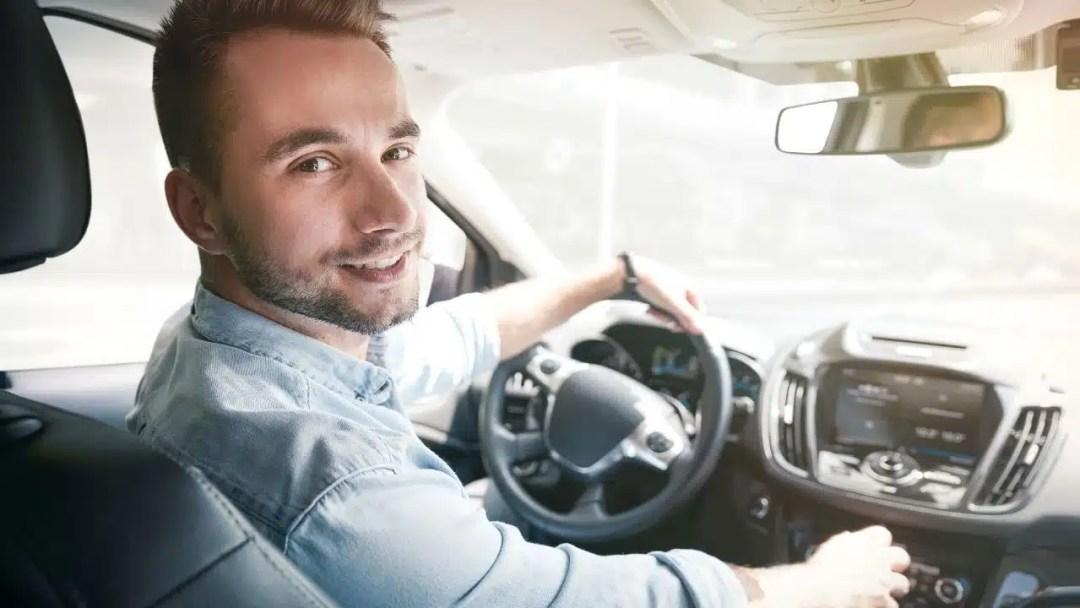 Conducteur de Uber