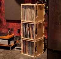 Wax Stacks | Portable, Stackable, Record Crates