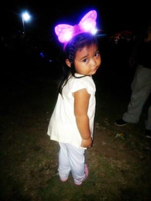 My niece posing.