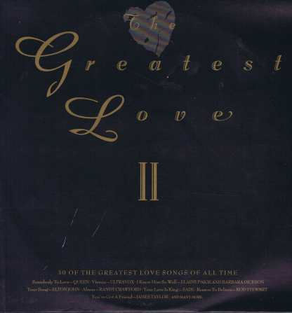Various Artists – The Greatest Love II - STAR 2352 - 2-LP Vinyl Record