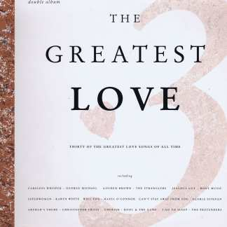 Various Artists – The Greatest Love Volume 3 - STAR 2384 - 2-LP Vinyl Record