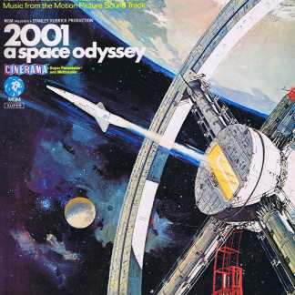2001 A Space Odyssey – Music from the Motion Picture Sound Track – LP Vinyl Record