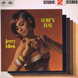 Jerry Allen ‎– Sump'n Else - TWO 133 - LP Record