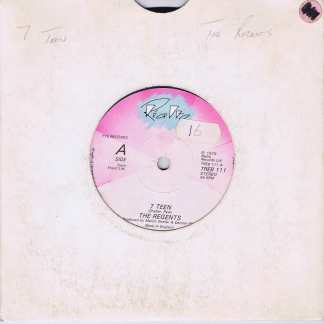 The Regents ‎– 7 Teen - TREB 111 - 7-inch Vinyl Record