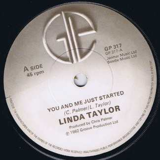 Linda Taylor – You And Me Just Started - GP 317 - 7-inch Vinyl Record