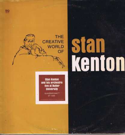 Stan Kenton – Live At Butler University – ST 1058 – Quadraphonic 2-LP Vinyl Record