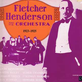 Fletcher Henderson And His Orchestra – 1923-1925 - Fountain FJ-112 - LP Vinyl Record