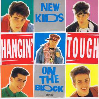New Kids On The Block - Hangin' Tough - BLOCK 3 - 7-inch Vinyl Record