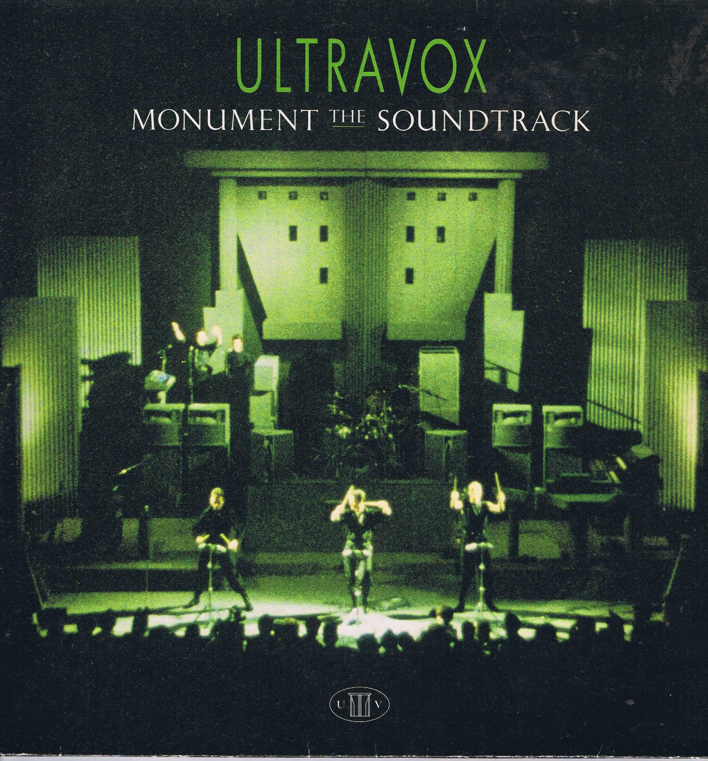 Ultravox Monument The Soundtrack Cux 1452 Lp Vinyl