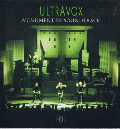 Ultravox – Monument The Soundtrack - CUX 1452 - LP Vinyl Record