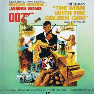 John Barry ‎– The Man With The Golden Gun (James Bond Soundtrack) - LP Vinyl Record