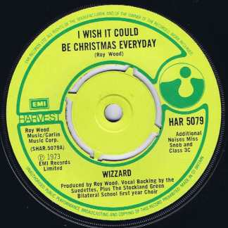 Wizzard – I Wish It Could Be Christmas Everyday - HAR 5079 - 7-inch Vinyl Record
