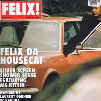 Felix Da Housecat – Silver Screen Shower Scene - ROCKERS1 - 12-inch Vinyl Record