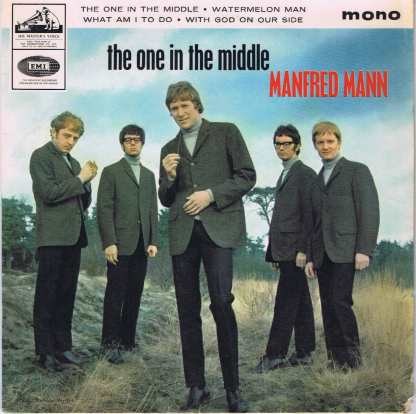 Manfred Mann – The One In The Middle - 7EG 8908 - 7-inch Vinyl Record