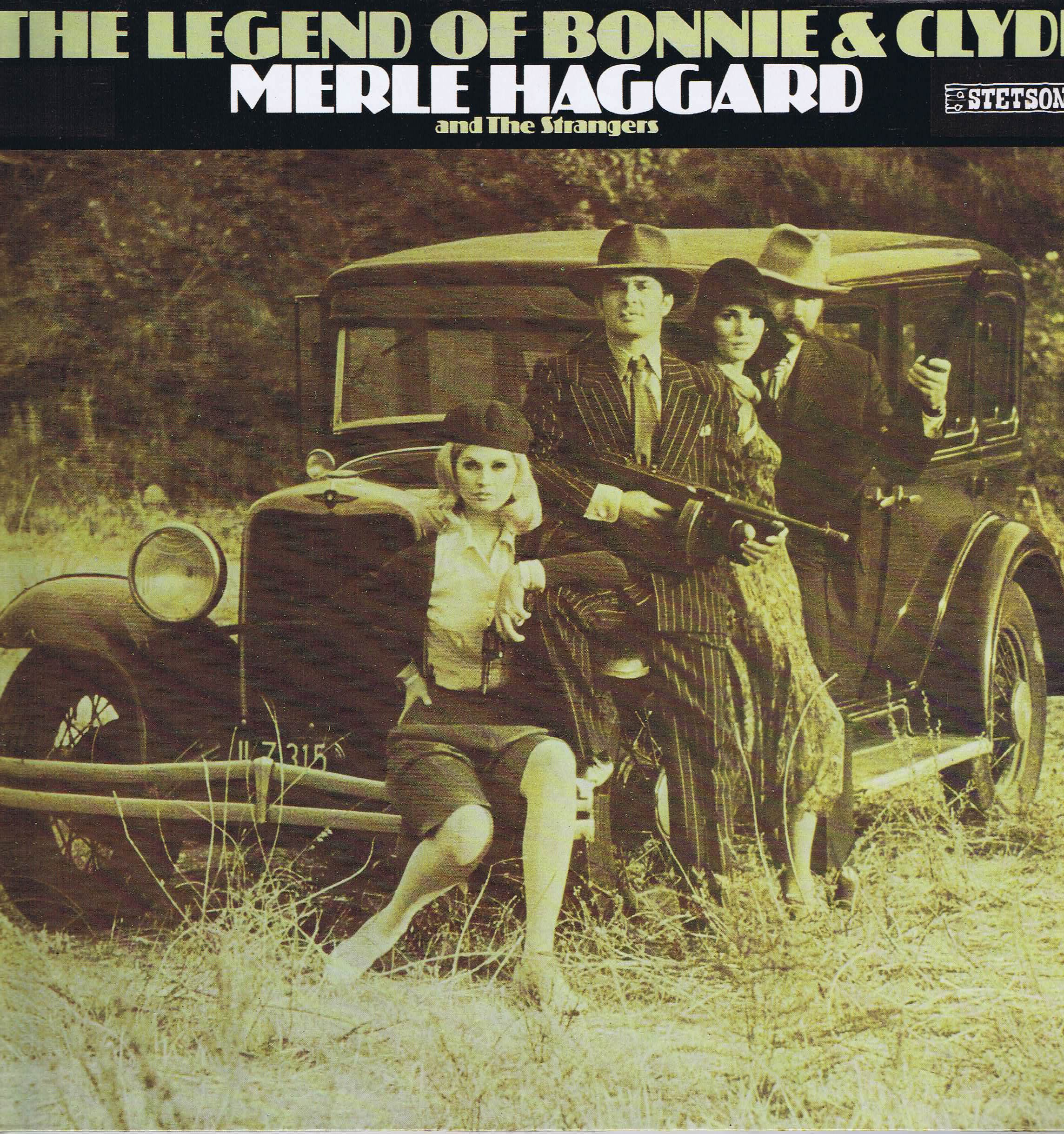 Merle Haggard And The Strangers The Legend Of Bonnie