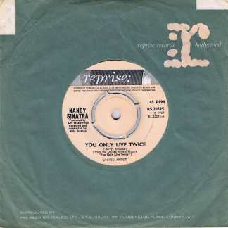 Nancy Sinatra - You Only Live Twice - RS.20595 - 7-inch Vinyl Record