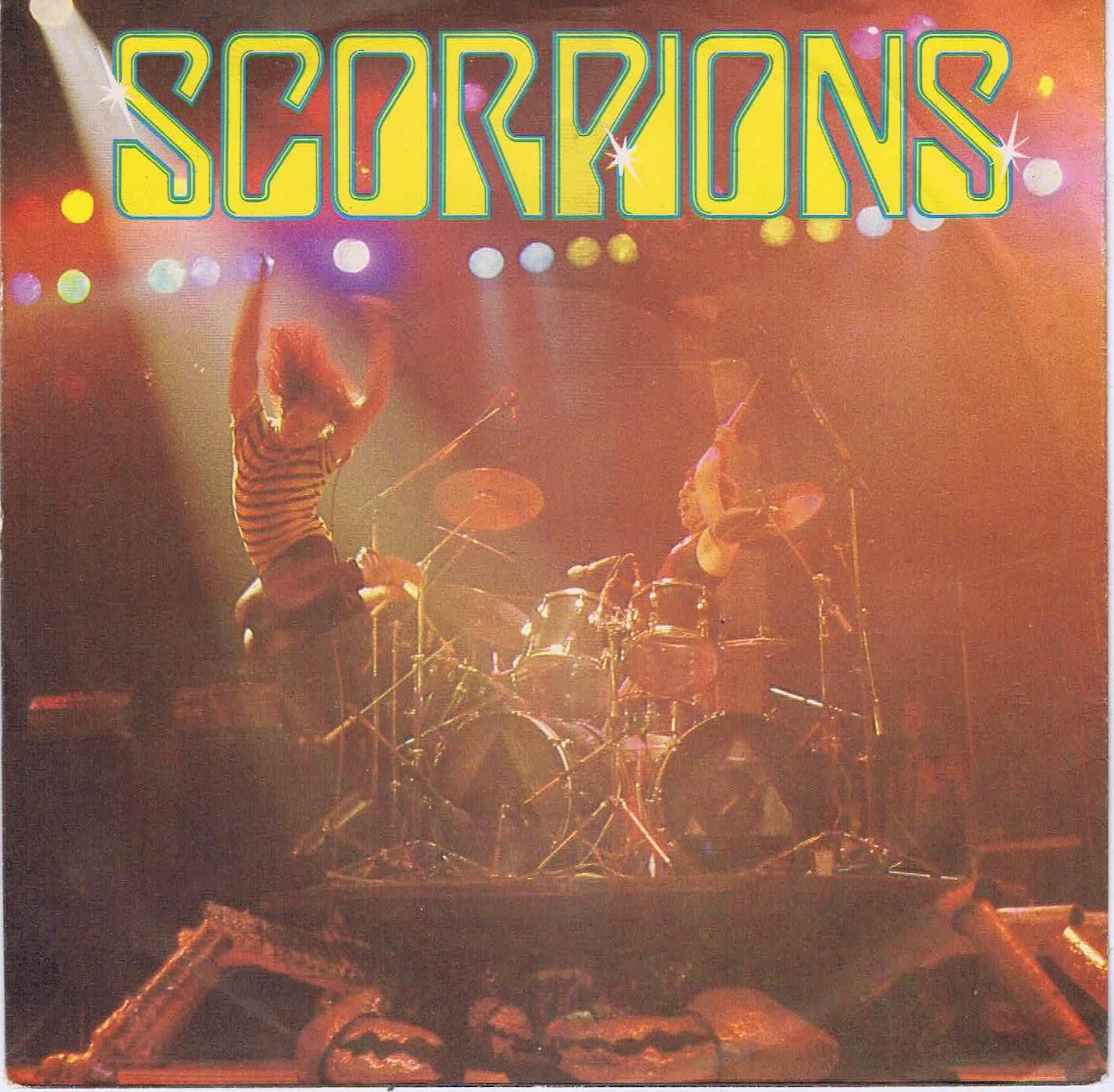 Scorpions The Zoo Har 5212 7 Inch Vinyl Record Wax