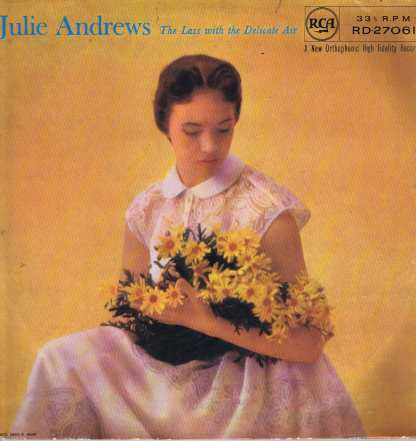 Julie Andrews – The Lass With The Delicate Air - RD-27061 – LP Vinyl Record