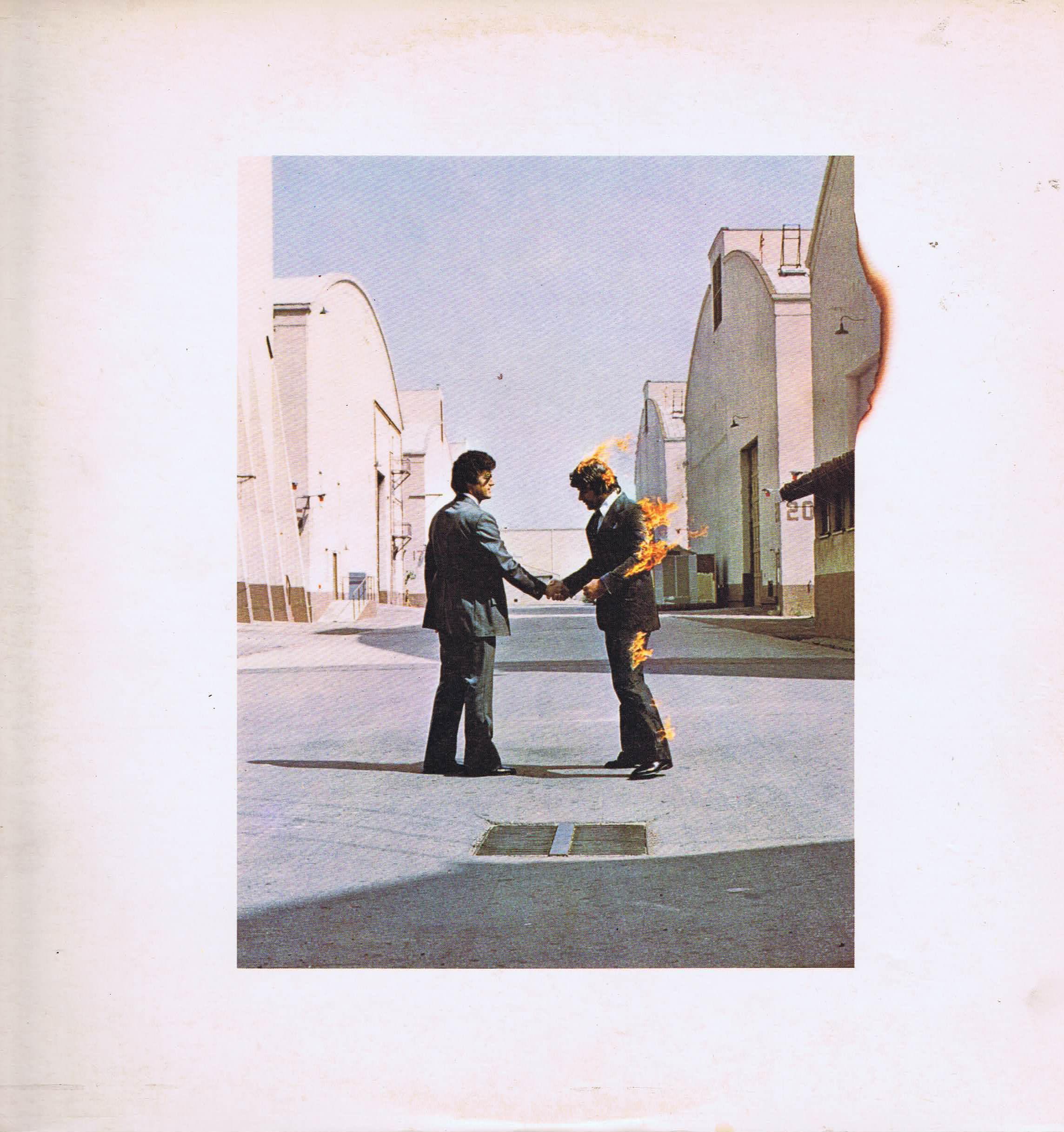 Pink Floyd - Wish You Were Here - SHVL 814 - A1/B10 & Postcard - LP Vinyl  Record