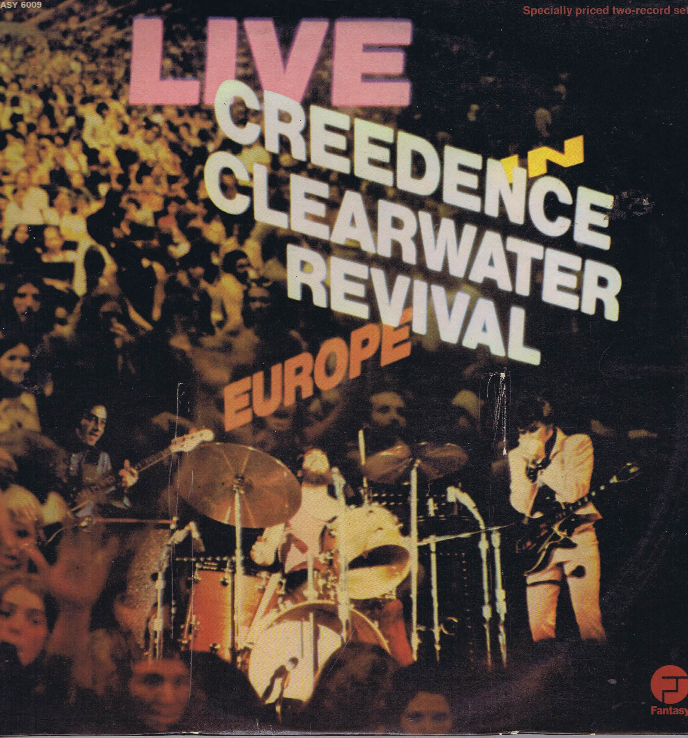 Creedence Clearwater Revival - Live In Europe - 6009 - 2-LP Vinyl Record